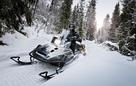 Yamaha VK540IV snowmobile